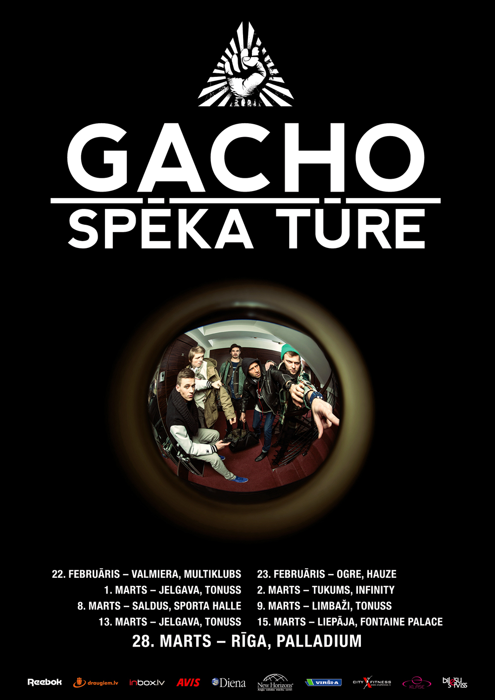 GACHO Spēka Tūre 2013