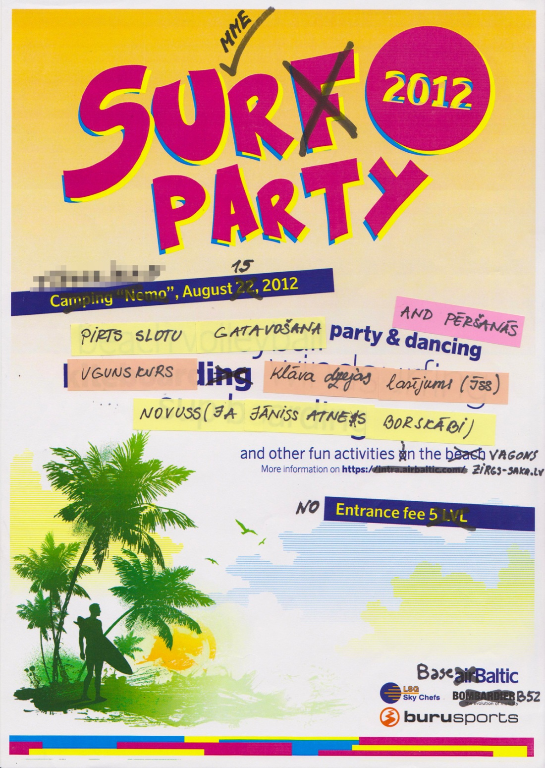 JekabsonsDotCom_Basebaltic_airBaltic_Surf_Summer_Party_Poster_2012_diy