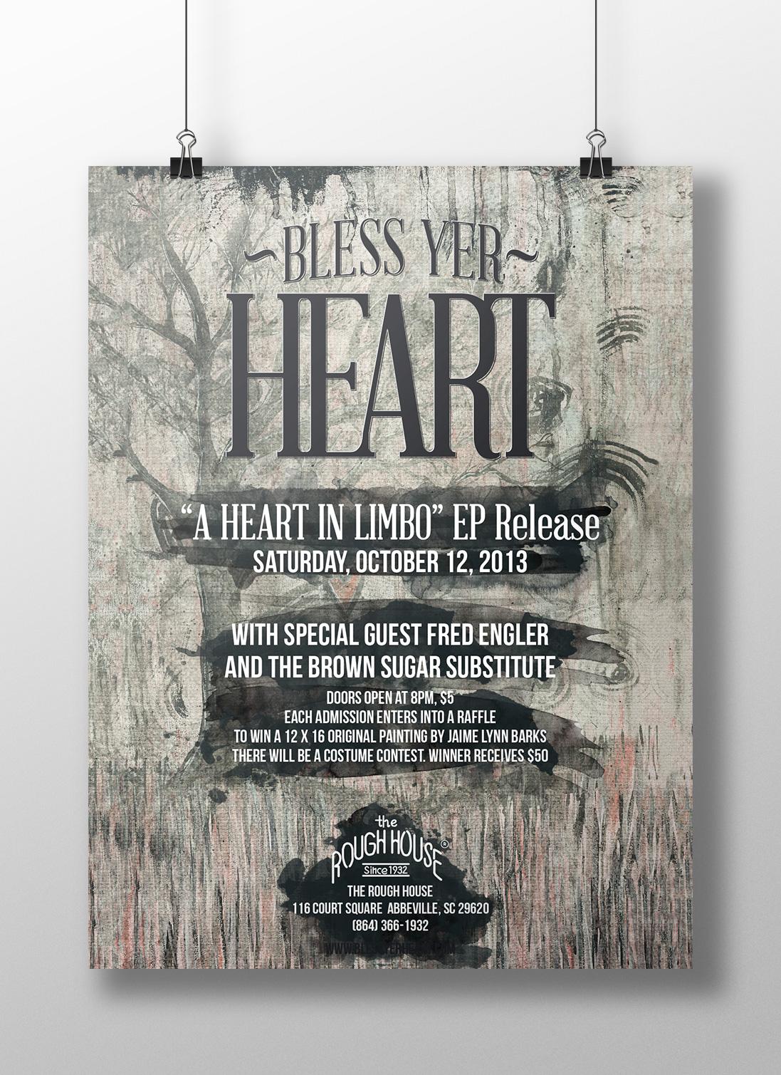 JekabsonsDotCom_BlessYerHeart_aHeartInLimbo_CD_RoughHouse_Poster