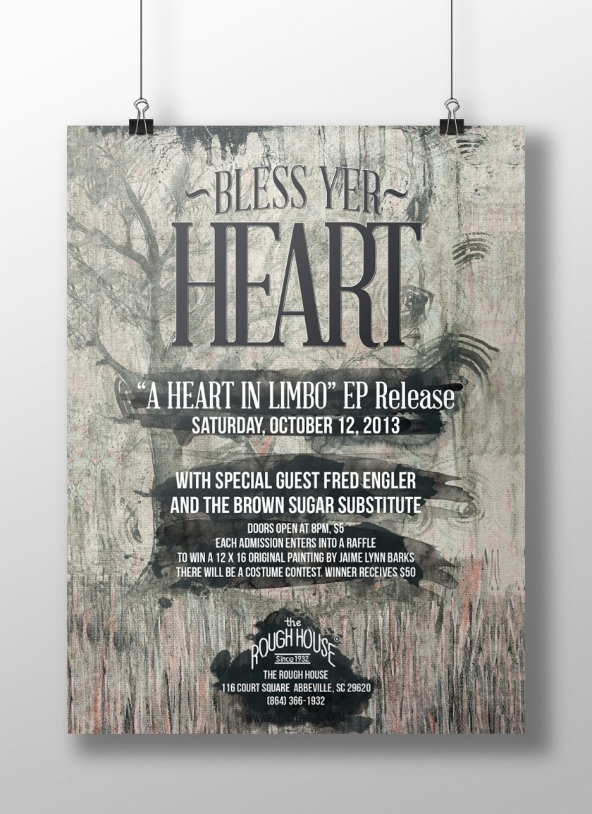 JekabsonsDotCom_BlessYerHeart_aHeartInLimbo_CD_RoughHouse_Poster