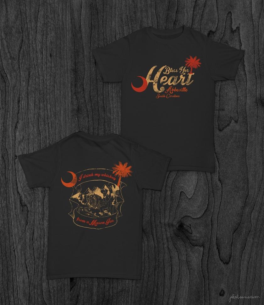 JekabsonsDotCom_BlessYerHeart_Southern_t-shirt_OldWhiskey_MockUp