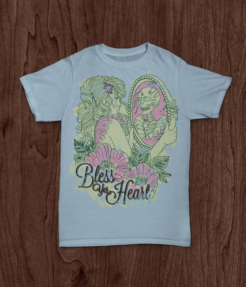 JekabsonsDotCom_BlessYerHeart_t-shirt_PinUpGirlTattoo_MockUp_blue