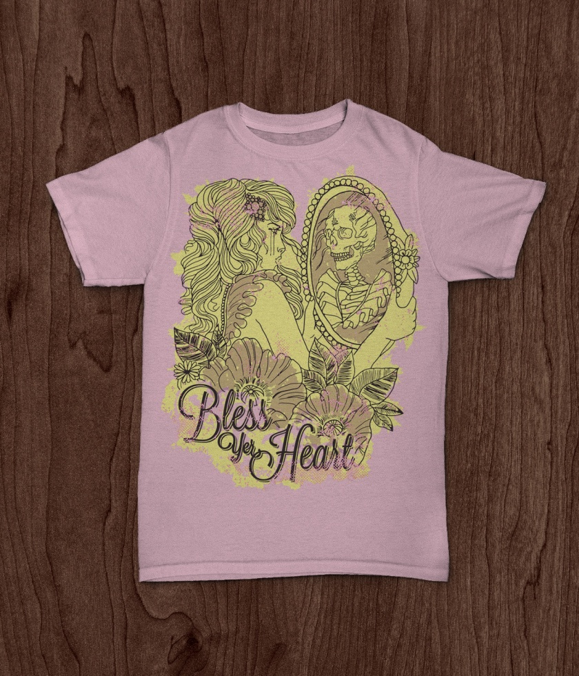 JekabsonsDotCom_BlessYerHeart_t-shirt_PinUpGirlTattoo_MockUp_pink